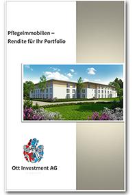 Infobroschüre Pflegeimmobilien